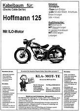 KA_HOF_2    Kabelbaum Hoffmann 125 mit ILO Motor,  wiring harness