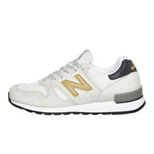 New Balance - M670 OWG Made in UK White / Gris Sneaker Sportschuhe