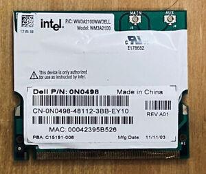 Dell p/n: 0N0498 Laptop Wireless Card intel P/c: WM3A2100WWDELL  (WM3A2100) (18)