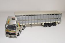 N WHITE METAL KIT RENAULT G340 TRUCK WITH TRAILER GREY EXCELLENT CONDITION