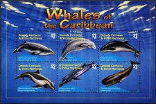 Grenada Grenadines 2010 Whales Of The Caribbean MNH M/S #A91727
