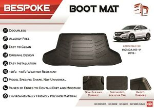 HONDA HR-V 2015+ Tailored Rubber Boot Liner Fitted Mat Dog Tray