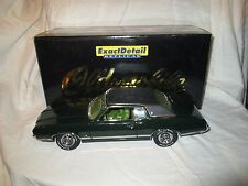 Lane Exact Detail 1971 Oldsmobile Cutlass Supreme SX Antique Jade 1:18 Die Cast