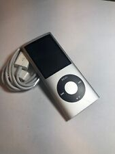 Apple iPod nano 4th Generation Silver (8GB) Battery Issue Works When Plugged In