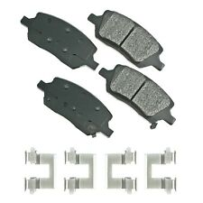 Akebono Brake Pad Sets 2-Wheel Set Rear Driver /& Passenger Side New ASP814