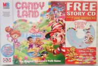 Rare Candyland Game 2004  + Free Story CD read by Jane Horrocks Hasbro Age 3 - 6