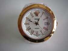 Gianni Versace DV One pink Ceramic Stainless Steel Ladies Watch in top condition