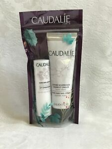 Caudalie Lot - 4.5g Lip Conditioner/Balm AND 30ml Hand and Nail Cream (2 items)