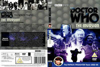 Doctor Who - The Invasion (BBC DVD) Special Edition recreated missing episodes +