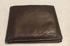 Levis Wallet Brown Bi Fold Wallet Card Holder Levis aa54