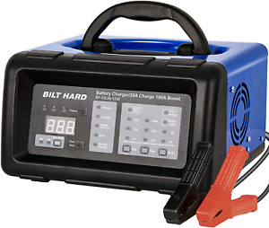 2 n 10 n 20 n 100A 6 and 12V Smart Battery Charger and Engine Start Fully Automa