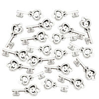 20pcs Antique Skeleton Key Charms DIY Necklace Pendant Jewelry Making Supply
