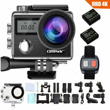 Campark X20 4K 20MP Action Sports Camera Touch Screen Waterproof Remote Control