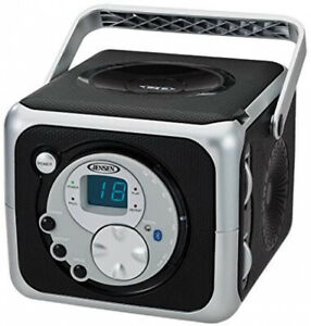 Compact Bluetooth CD Player FM Radio Aux-in Headphone Jack Corded/Battery Power