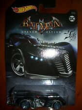 HOT WHEELS VERY RARE ARKHAM ASYLUM BATMOBILE SEALED MINT CONDITION. MISP