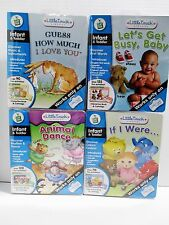4 LeapFrog Little Touch Leap Pad Interactive Books & Cartridges Infant & Toddler