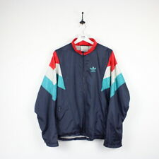 Vintage 80s ADIDAS Track Top Shell Jacket Navy | Medium