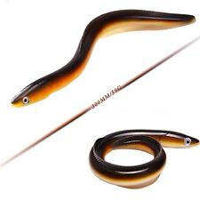 "1PCS Bass Big Soft Fishing Lures Saltwater Swim Eel Baits Lifelike Smell 11.7"""