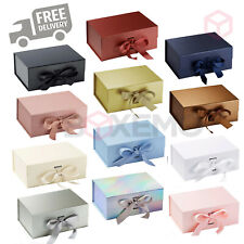 A4 Size Gift Box, Luxury Gift Box, Magnetic Boxes with Ribbon, Hamper box, Large