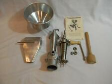 Vintage Squeezo Strainer 400-TS with Instructions All Metal NICE!!!