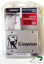 Nuevo Kingston 120GB SSD UV400 SSDnow estado sólido SATA 3 disco duro de 6GB/s 2.5 pulgadas