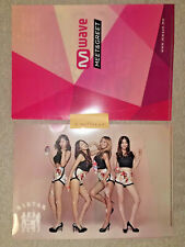 SISTAR TOUCH MY BODY MWAVE CLEAR FILE KPOP BTS EXO TXT 12 x 9 inch