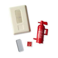 Feuerlöscherkasten breit weiß in 1:14,5 Tamiya, Scaleart, Premacon