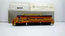 Bachmann Plus HO Train Chessie System GE B23-7 Powered Diesel Locomotive