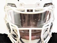 CLEAR Elitetek Football Visor Shield UNIVERSAL Fit Youth & Adult Helmet