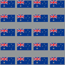 20 Sticker 3cm Australia Made Flag Modelling RC Sticker 4061963009222