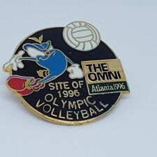 Atlanta 96 Izzy Mascot The Omni Site of Olympic Volleyball Pin