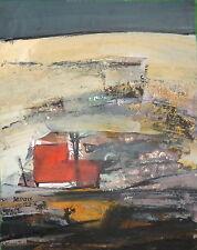 Bepoix Michel Huile sur carton signée art abstrait abstraction lyrique
