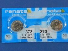 Renata  373 /  SR916SW    Batteries  Button Cell ,2Pc