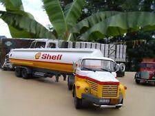 n° 38 BERLIET TLR 12 Camion Semi Remorque CITERNE SHELL 1/43 Neuf en Boite
