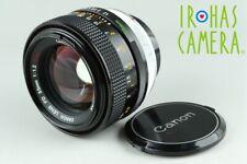 Canon FD 55mm F/1.2 S.S.C. Lens #23028 F4