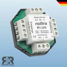 Trennrelais für 2 Motore Rolladen Rollladenmotor Rolllo Steuerelement Relais R1