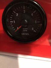 2 Inch Electrical Tachometer Diesel Gauge X1000 Rpm U
