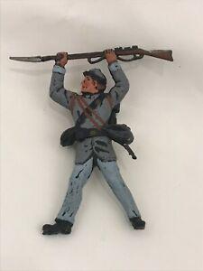 LANDI Soldatini Confederato Sudista Nordista xiloplasto 1:32 toy soldier POSA 3