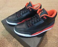 Nike Air Jordan 3 III Retro Black Crimson 136064-005 Mens Shoes SZ 10.5
