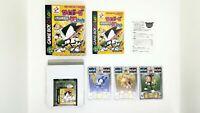 Cyborg Kuro Chan Devil Resurrection w/ Trading cards Game Boy Color GBC