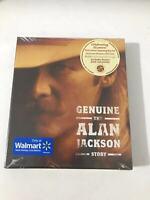 Alan Jackson (2) – Genuine - The Alan Jackson Story 887254063926 US CD SEALED