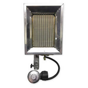 RE-VERBER-RAY P-16T Tank Top Portable Gas Heater,16000BtuH