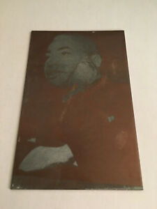 Barney Ross Welterweight Boxer Boxing Original Newspaper Printing Plate