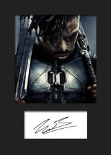 MICHAEL B JORDAN #1 A5 Signed Mounted Photo Print (Reprint) - FREE DELIVERY