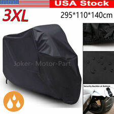 3XL Black Motorcycle Waterproof Cover for Yamaha V-Star 650 950 1100 1300 US