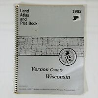 Plat Book Vernon County Wisconsin 1983 Wisconsin Land Atlas
