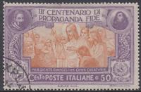 Italy Regno - 1923 Propaganda Fide - Sassone n. 133 used  cv 500$