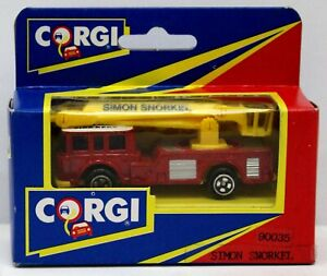 Corgi Juniors 90035 Simon Snorkel MIB 1992 Street Life in Miniature