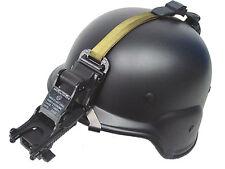 Tactical MDG M88 Helmet + Night Vision NVG Mount Set Airsoft Black
