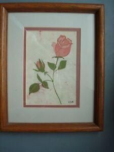 Original Batik Signed Art by Delores Smith - Free US Shipping!